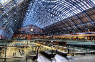 Trein naar Londen